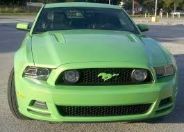 mustang grill emblems gotta it green ford mustang pony emblem cover 10 14