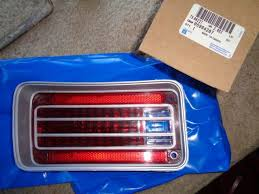 1970 chevelle tail lights nos 1970 chevy chevelle malibu ss 454 ls6 right rear tail light lens