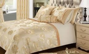 duvet cream colour stylish soft crushed velvet duvet quilt cover