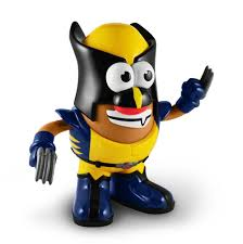 Potato Head Kit Disguise Marvel Comics Wolverine Poptaters Potato Head Ppw Toys