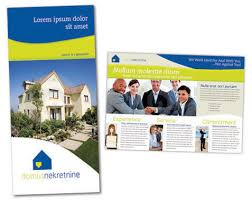 brochure templates for real estate real estate brochure template