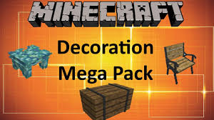 Minecraft Decoration Mod Minecraft Decoration Mega Pack Mod Youtube