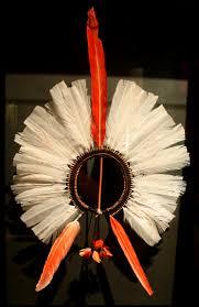 kayapo headdress brazil 1910 nmai e136110 kayapo people