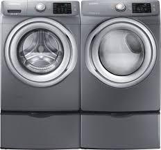 Frigidaire Laundry Pedestal Samsung Wf42h5200ap Front Load Washer U0026 Dv42h5200gp Gas Dryer W
