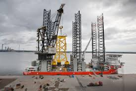 first suction bucket jacket offshore wind industry