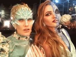 what models wore this halloween from supermodels to victoria u0027s