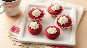 red velvet cookie cups recipe bettycrocker com
