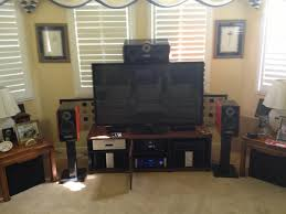 Tv In Dining Room Living Room Setup Imgur My Entertainment Center Sound System And