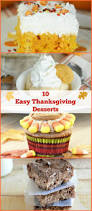 thanksgiving cupcake recipes ideas 10 easy thanksgiving dessert ideas meatloaf and melodrama