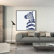 articles with zebra wall art decals tag zebra wall decor zebra print wall accessories zebra print room decor ideas bianche wall modern fashion simple animal zebra
