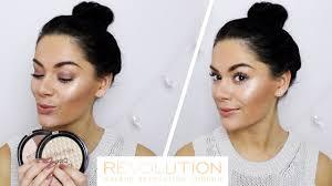 new contour u0026 highlight powders makeup revolution youtube