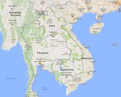 World Map Vietnam by Vietnam Map Indochina Tours