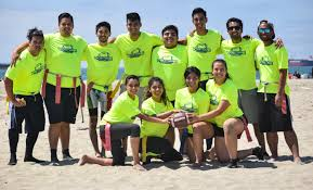 Coed Flag Football Volitude Sports Flag Football Leagues In Long Beach Saturdays