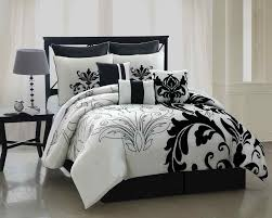 Black Comforter Sets King Size California King Size Bed Comforter Sets With Black And White For