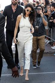 kendall jenner jumpsuit kendall jenner white jumpsuit at 2016 cannes festival shop