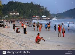 malaysia kedah state andaman sea langkawi island pantai cenang