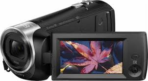 black friday camcorder sales sony handycam cx440 flash memory camcorder black hdrcx440 b best buy