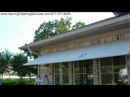 Awnings Dallas Repairing Patching Canvas Awnings After Hail Damage Dallas Fort