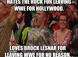 Brock Lesnar Meme - brock lesnar return guy memes quickmeme