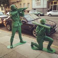 realistic costumes eric bieller our insanely realistic green army