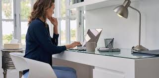 Small Desk Home Office 8 Ways To Organize A Desk When You Work From Home The Muse