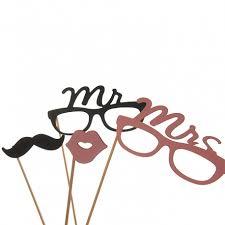 photo booth props mr mrs photo booth props hashtag shop