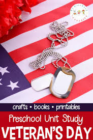 simple veterans day unit study for preschoolers with printables