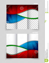 tri fold brochure template design stock vector image 44212496