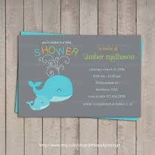 whale baby shower invitations tips easy to create whale baby shower invitations templates
