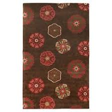 shaw accent rugs shaw living mia dark brown accent rug 2 x 3 fancy eclectic