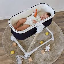 Bed Crib Newborn Bed Infant Sleeping Basket Portable Crib Cradle Baby Bed