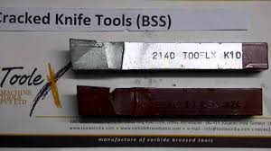 cranked knife tools bss for lathe machine cutting operation