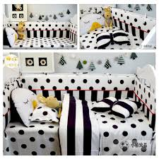 Black And White Crib Bedding Sets Buy Baby Bedding Black And Get Free Shipping On Aliexpress