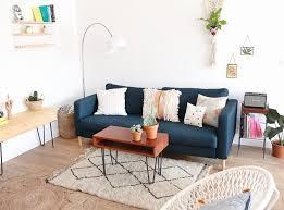 deco canapé tapis de couloir pour deco salon canape gris frais décoration modern