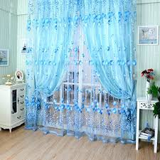 White Patterned Curtains Blue And White Curtains Interesting Blue And White Patterned