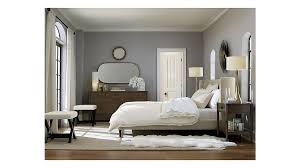 Crate And Barrel Bedroom Furniture Sale Upholstered King Bed In Beds Headboards Reviews Crate
