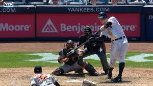 Aaron Judge Yankees Slugger Becomes Tallest Center Fielder - aaron judge is named al player of the week new york yankees