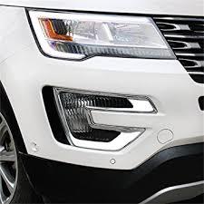 ford explorer trim amazon com vesul chrome front fog l fog light cover trim for