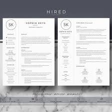 Modern Professional Resume Templates 83 Best Modern Professional U0026 Elegant Resume Templates Images On