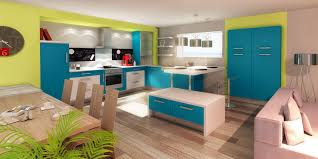 cuisine turquoise cuisine douillet le grand lemps