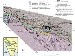 San Gabriel Map Late Quaternary Slip History Of The Mill Creek Strand Of The San