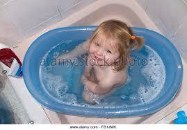 Portable Bathtub For Kids Bath Time One Year Old Stock Photos U0026 Bath Time One Year Old Stock