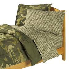 amazon com dream factory geo camo army boys comforter set green