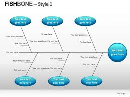 cause and effect fishbone diagram powerpoint slides editable ppt