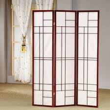 Room Divider Panel by Solid Wood Room Dividers You U0027ll Love Wayfair
