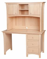 Maple Desk With Hutch Handcrafted Hutch Desks From Erik Organic