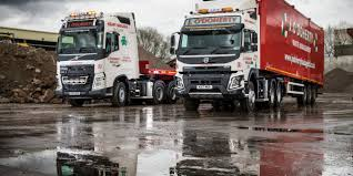 volvo heavy vehicles j o u0027doherty celebrates 30 years with new volvo fmx 6 4 tractor