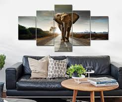 elephant decor for living room large size