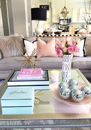 Feminine Living Room The Secret To Coffee Table Decorating Decorating Coffee And