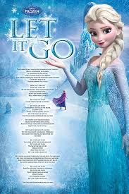 let it go frozen let it go poster sold at europosters